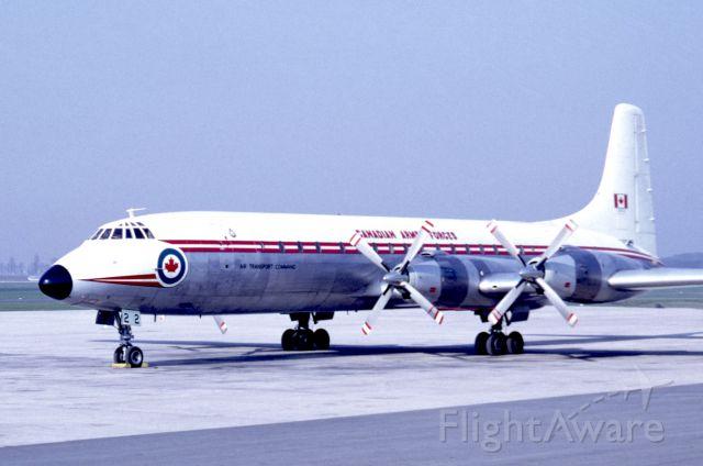 Canadair CL-44 Forty Four (CAF15922) - March 1969 at Düsseldorf (EDDL)