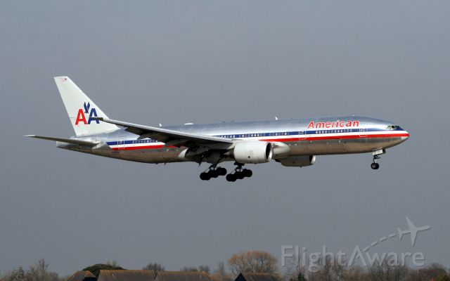 Boeing 777-200 (N799AN) - Arriving from Chicago-O