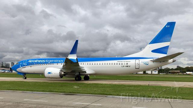 Boeing 737-800 (LV-HKV)