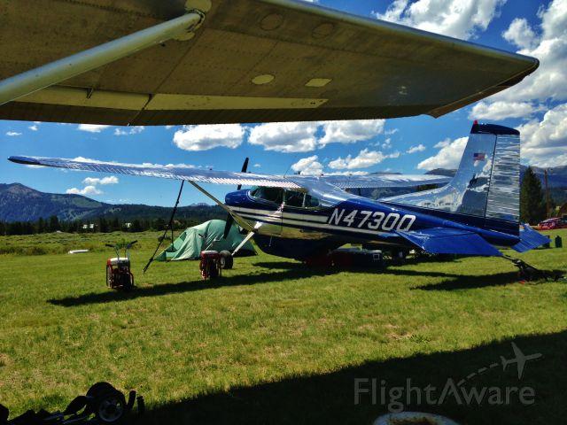 Cessna Skywagon (N4730Q) - Photo taken at an aircraft meeting in Idaho.