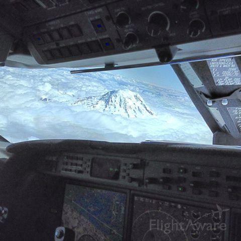 Gulfstream Aerospace Gulfstream IV — - Nice Shot looking over Mt Ranier