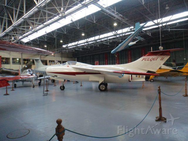 IAX33 — - FMA IAe-33 PULQUI II / FUERZA AEREA ARGENTINA / MUSEO NACIONAL DE AERONAUTICA / MORON-ARGENTINA.