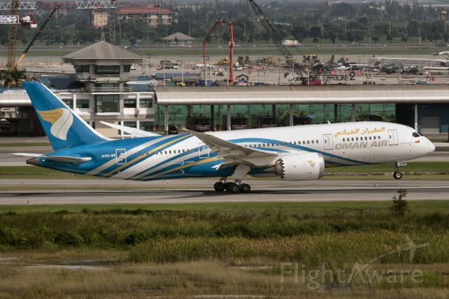 Boeing 787-8 (A40SB) - 29th Sept., 2017