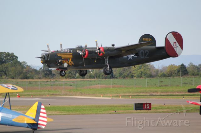 Consolidated B-24 Liberator — - Collings Foundation visiting the Warrenton-Fauquier Airport in Virginia.
