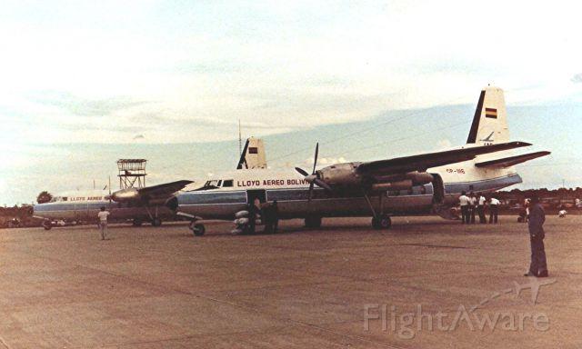 FAIRCHILD HILLER FH-227 (CPZ1116) - Ramp SLTR circa 1980