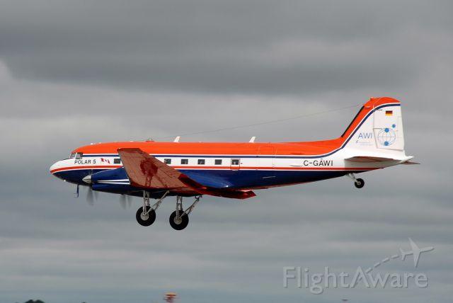 Douglas DC-3 (C-GAWI)
