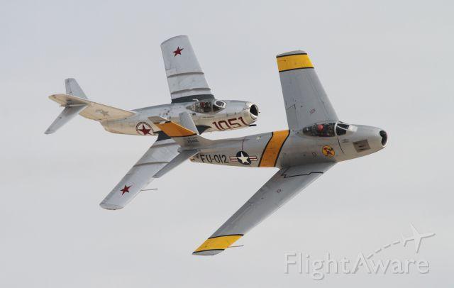 North American F-86 Sabre (FU012)