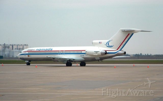 """N727M — - Not a 727, but a """"Super-27"""" (note the MD-80 engine)!"""