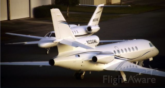 Dassault Falcon 50 (N200WL) - Beautiful FA50 based out of VLD.