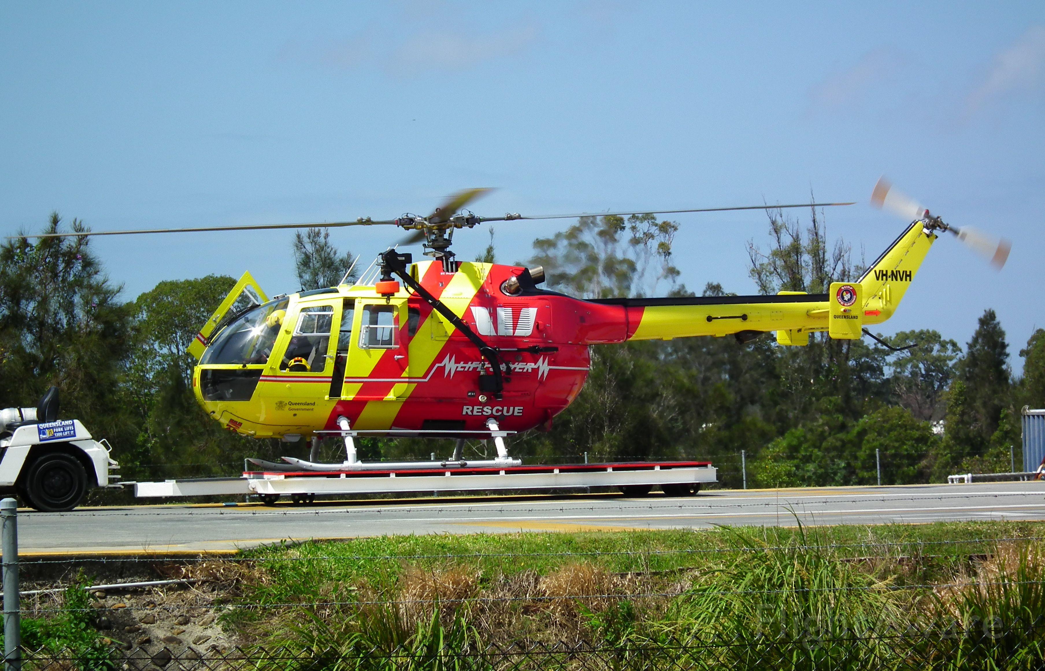 Eurocopter EC-635 (VH-NVH)