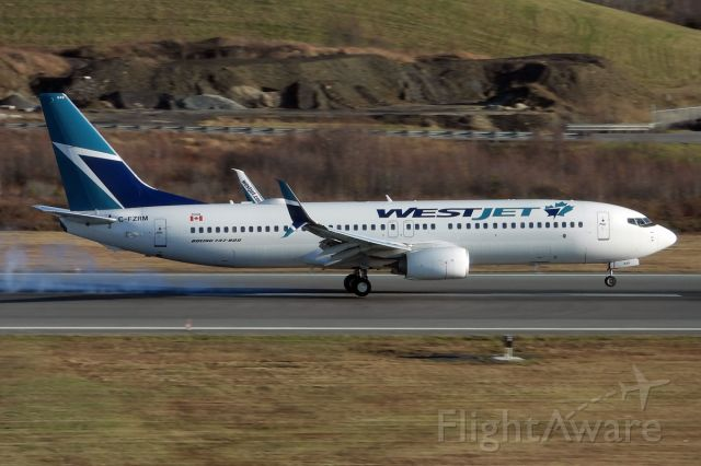 Boeing 737-800 (C-FZRM)