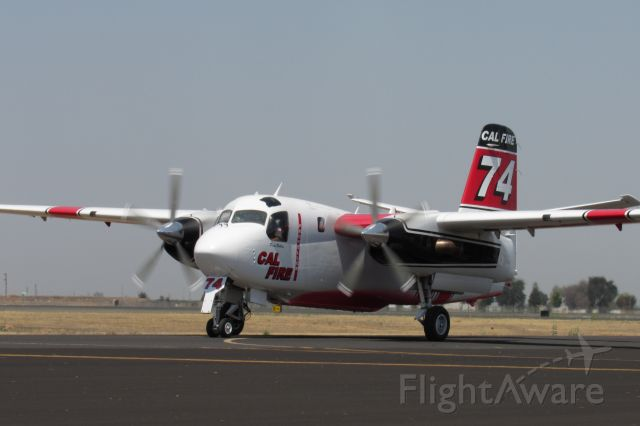 MARSH Turbo Tracker (N439DF) - Paso Robles N439DF taxiing to the base after a fire dispatch.