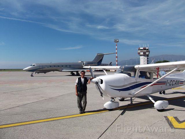 Cessna Skyhawk (I-CCAW) - BEFOR   I-CCAW -