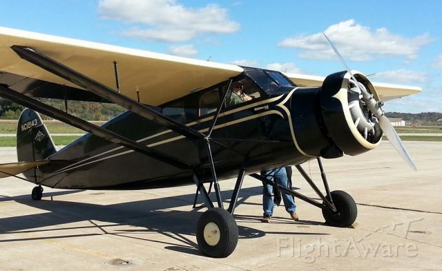 NC12143 — - Arkansas Air & Military Museums 1931 Stinson S Junior