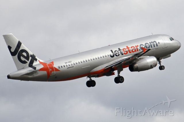 Airbus A320 (VH-VGY) - on 11 August 2019
