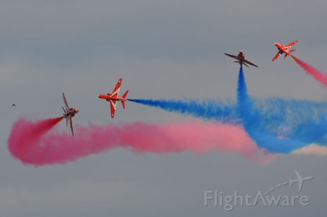 Boeing Goshawk (MULTIPLE) - Part of the Red Arrows display at the Duxford Airshow on 20 Sep 2015