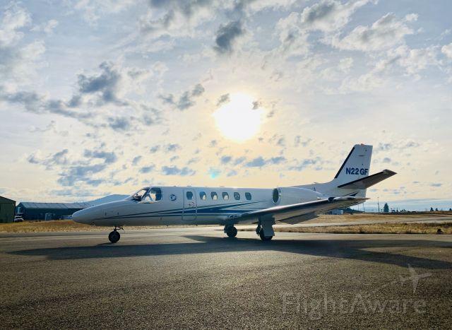 Cessna Citation II (N22GF)