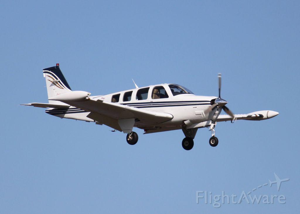 Beechcraft Bonanza (36) (N3189Y) - At Downtown Shreveport.