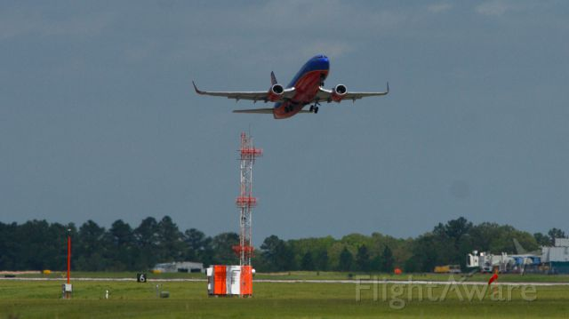 Boeing 737-700 — - KJAN - MCO departs from 16R at Jackson-Evers International