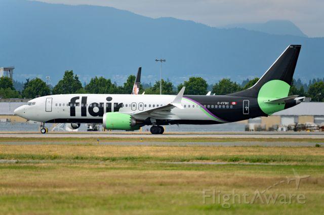 Boeing 737 MAX 8 (C-FFBC)