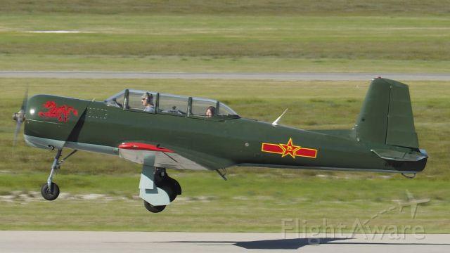 NANCHANG PT-6 (VH-NNV) - Nanchang CJ-6A cn 543024. VH-NNV YPJT 10/07/20.
