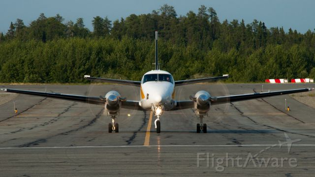 Beechcraft King Air 100 (C-GIZX) - Cree 590 Medevac
