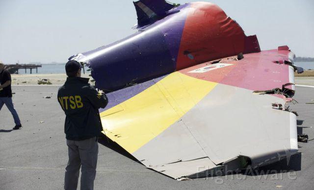 BOEING 777-300 (HL7742) - Photo courtesy NTSB