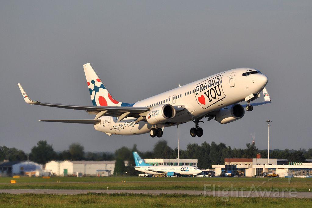 Boeing 737-800 (OK-TVB)