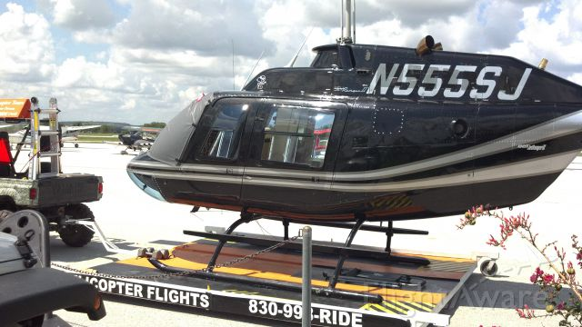 Bell JetRanger (N555SJ)
