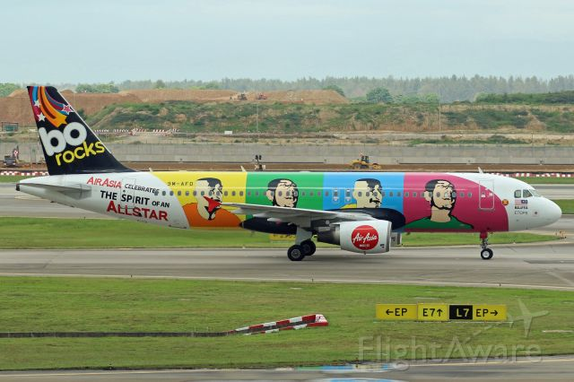 """Airbus A320 (9M-AFD) - """"Allstars"""" livery"""