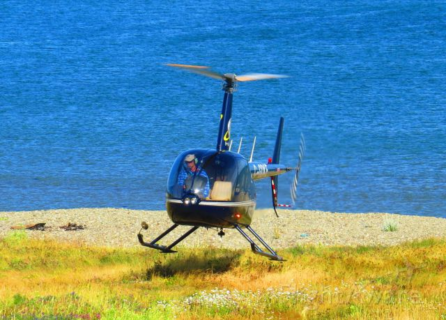 Robinson R-44 (C-GDKE) - Coming home after the day is done flying people over the Magdalen Islands