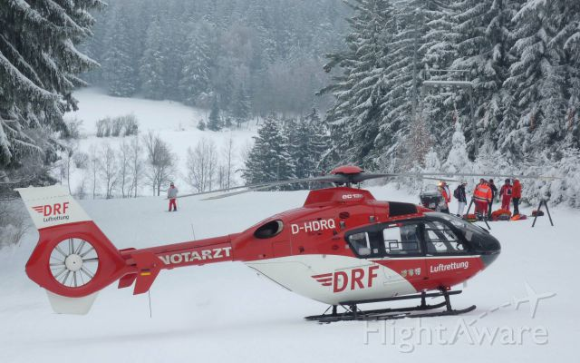 Eurocopter EC-635 (D-HDRQ) - EC-H135 rescue helicopter (DRF)