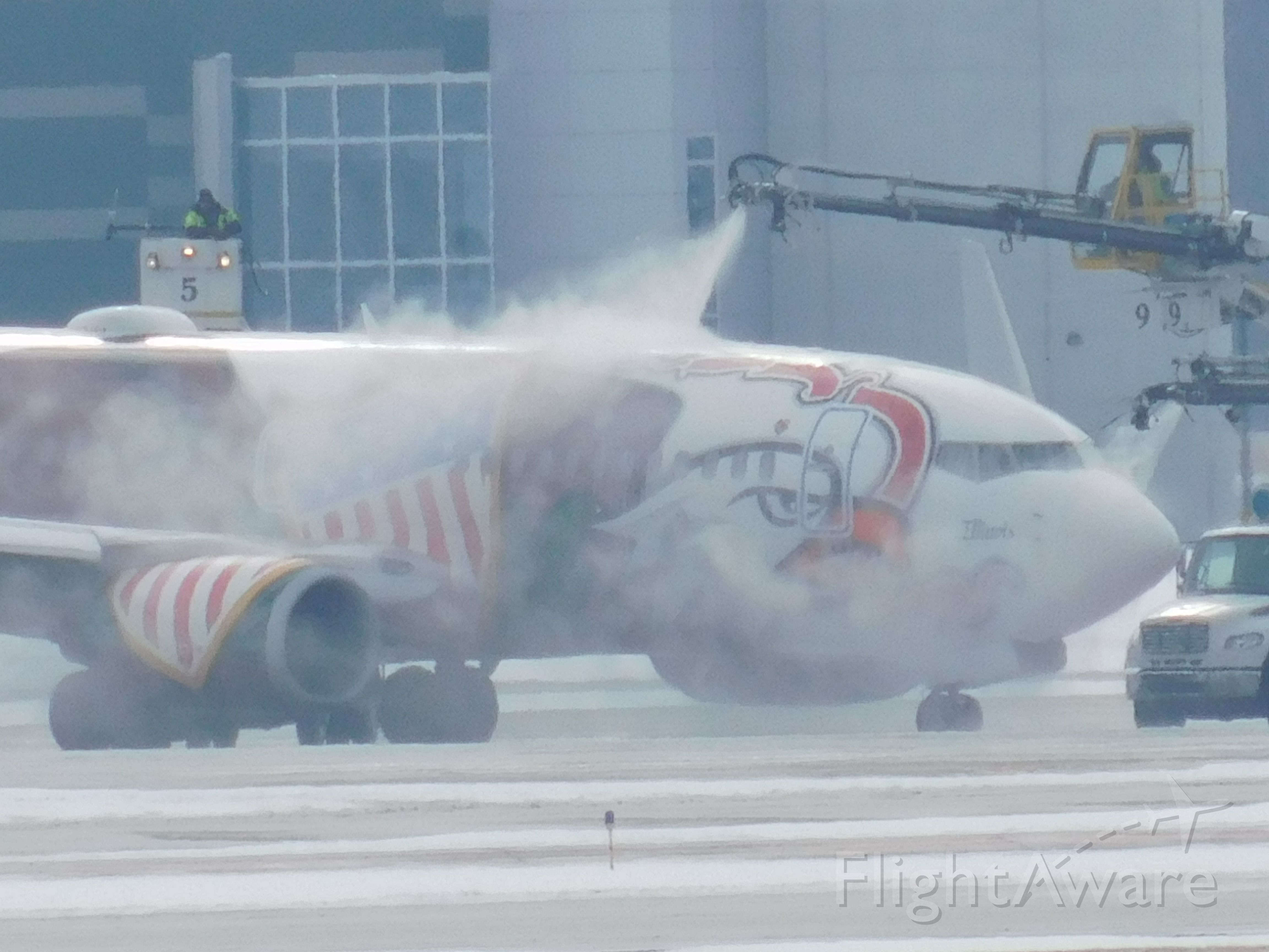 Boeing 737-700 (N918WN) - The smothering De-Ice on this southwest jet