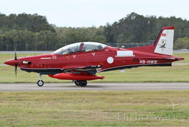 Pilatus PC-21 (HB-HWB)