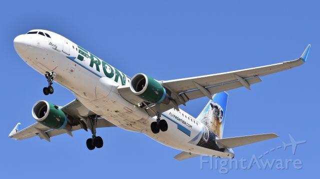 """Airbus A320 (N236FR) - """"Marty"""""""