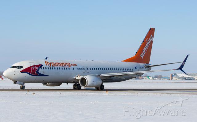 Boeing 737-800 (OK-TVS)