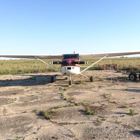 Cessna Skylane (N58582) - Landed for fishing Trip - Matagorda Iseland