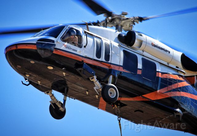 Sikorsky S-70 (N803PJ) - Departing for the Luma Fire in California.