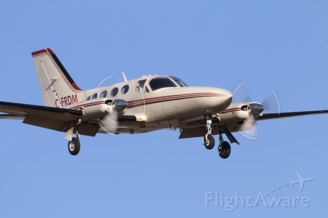 Cessna Chancellor (C-FRDM) - Landing at Peterborough airport. May 13, 2020.<br /><br />Photo credit: Carlos Reyes