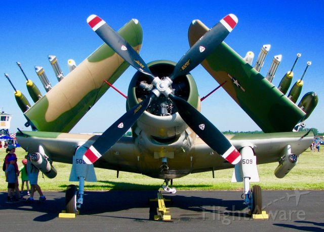 Douglas AD Skyraider (N2AD) - At Oshkosh. 1947 Douglas AD-1 Skyraider
