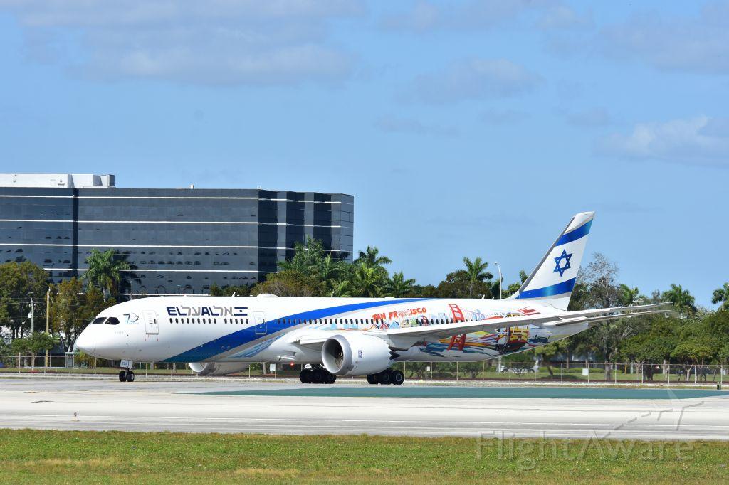 Boeing Dreamliner (Srs.8) (4X-EDD)