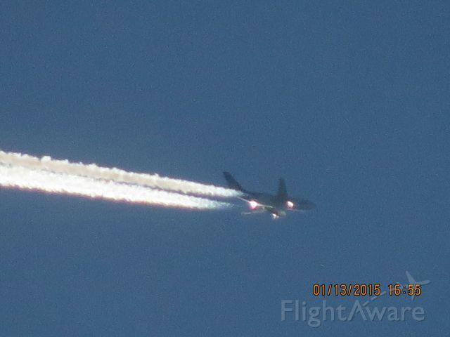 Airbus A310 (C-GTSF) - Air Transat flight 504 from Cancun to ? over Southeastern Kansas at 36,000 feet.