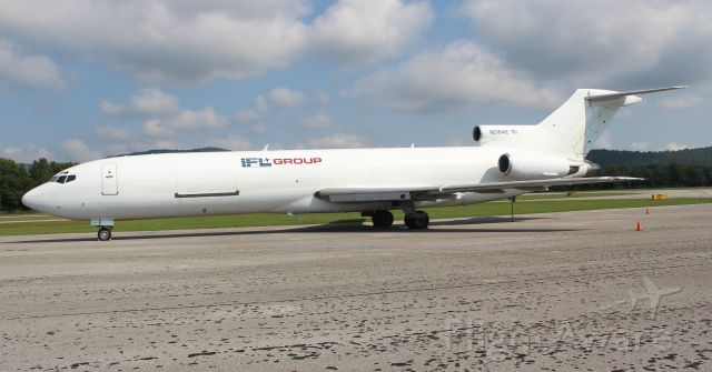 BOEING 727-200 (N216WE) - Sunny side up - an IFL Group Boeing 727-200 on the ramp at Anniston Regional Airport, AL - August 5, 2017.