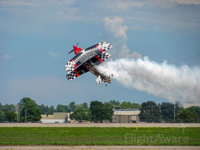 PITTS Special (S-2) (N540SS) - Skip Stewart taking off at Oshkosh Airventure 2018