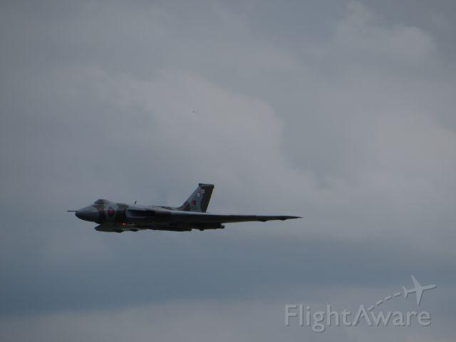 XH558 — - Waddington Air Show 2014
