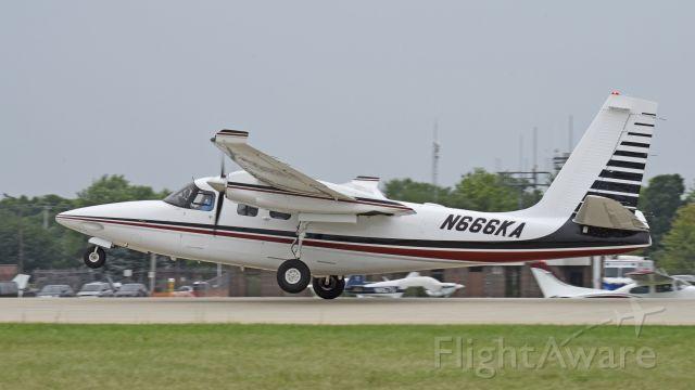 Aero Commander 500 (N666KA) - Airventure 2019