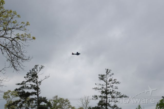 — — - B17 flying around KCXO