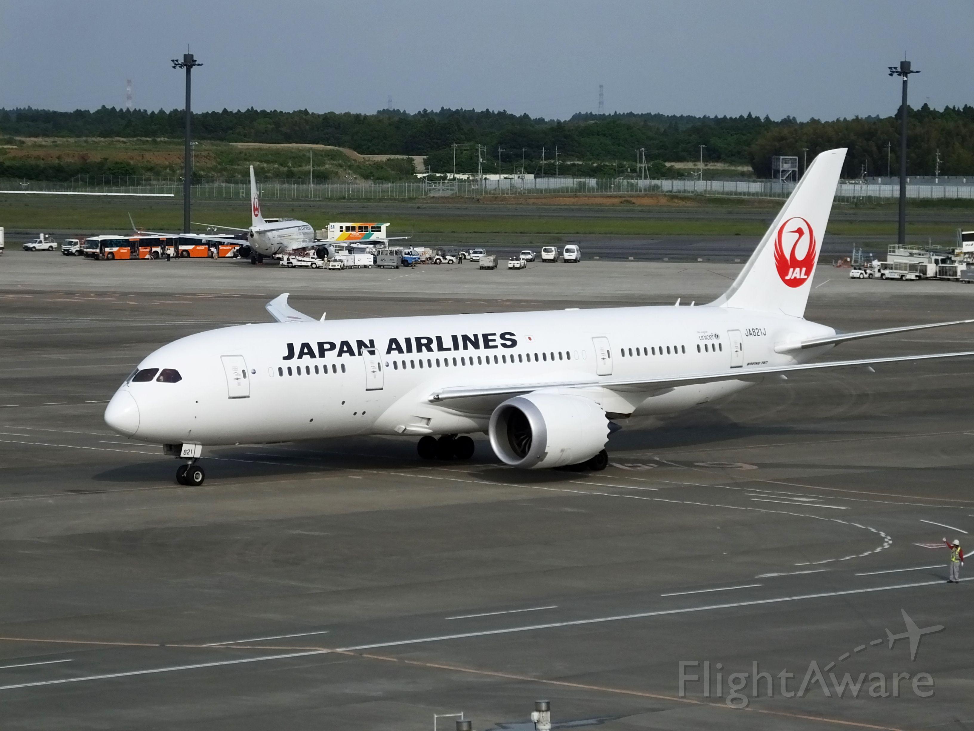 Boeing 787-8 (JA821J)