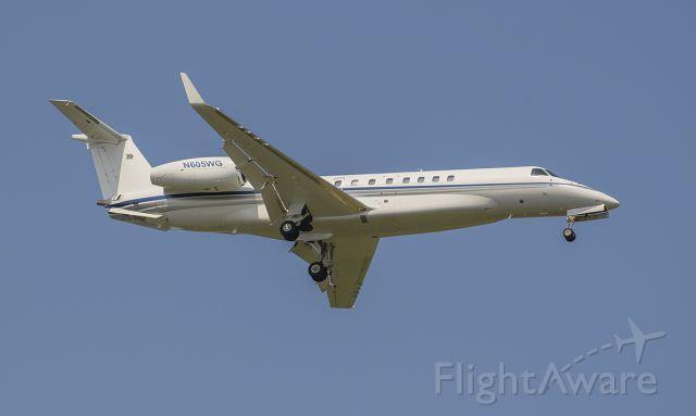 Embraer ERJ-135 (N605WG) - Runway 02L arrival @KDPA.