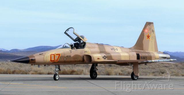 "Northrop RF-5 Tigereye (76-1545) - United States Navy Northrop F-5N Tiger II (761545)<br />VFC-13 (Fighter Squadron Composite Thirteen) ""Fighting Saints""<br />Home Station: NAS Fallon, NV"